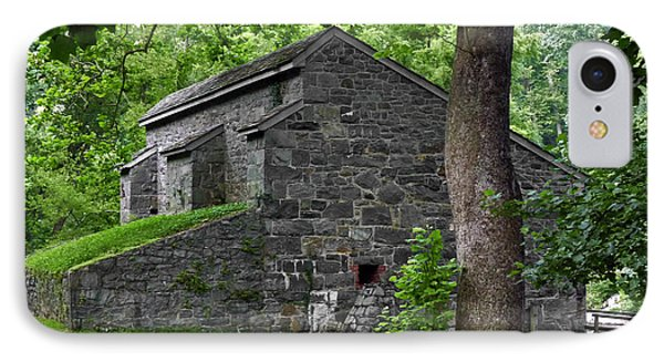 Graining Mill. Hagley Museum. IPhone Case by Chris  Kusik