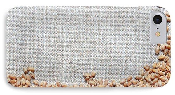 Grains Of Wheat IPhone Case by Wladimir Bulgar