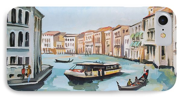 Grand Canal 2 IPhone Case by Filip Mihail