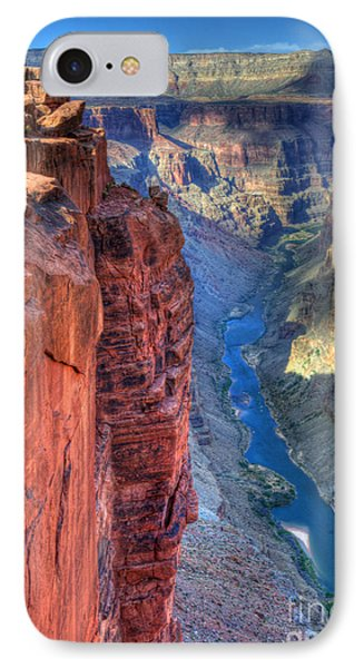 Grand Canyon Awe Inspiring IPhone Case by Bob Christopher