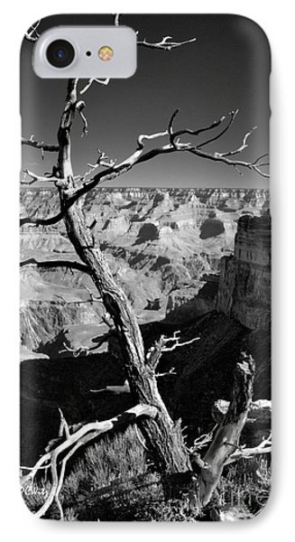 Grand Canyon Bw IPhone Case by Patrick Witz