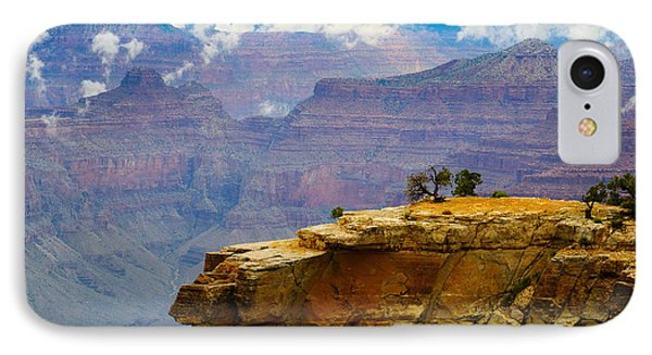 Grand Canyon Clearing Storm IPhone Case by Terry Garvin