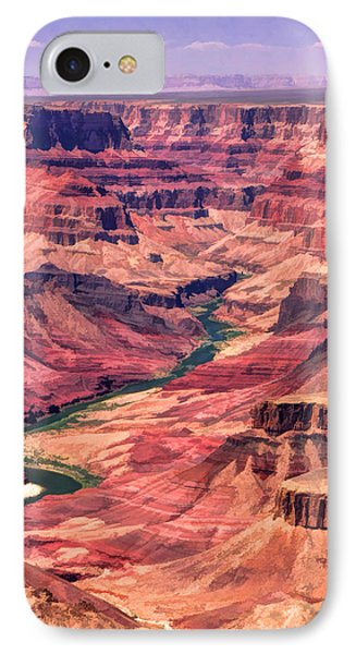 Grand Canyon Colorado Canyon IPhone Case by Christopher Arndt