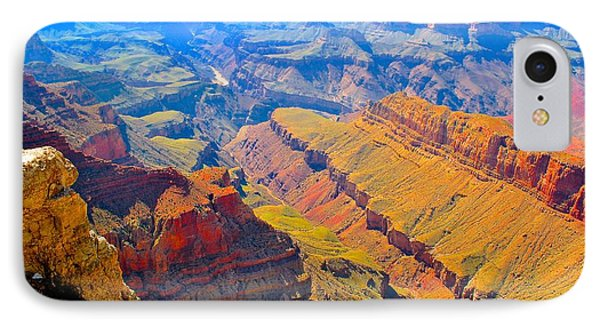 Grand Canyon In Vivid Color IPhone Case