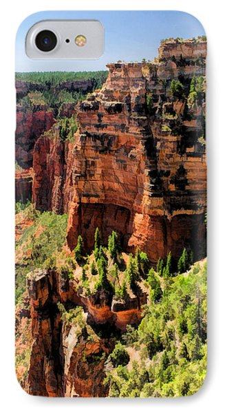 Grand Canyon Layers IPhone Case by Christopher Arndt