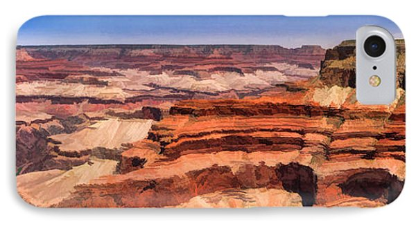 Grand Canyon Mesa Panorama IPhone Case by Christopher Arndt