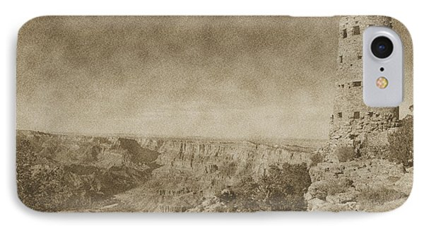 Grand Canyon National Park Mary Colter Designed Desert View Watchtower Vintage Phone Case by Shawn O'Brien