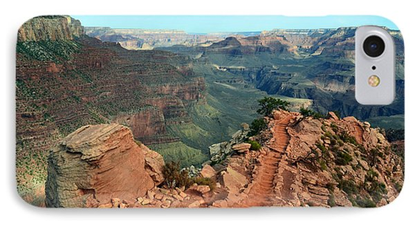 Grand Canyon National Park South Kaibab Trail IPhone Case