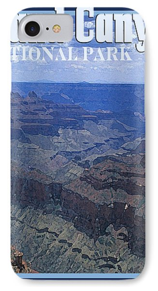 Grand Canyon National Park Vintage Style IPhone Case