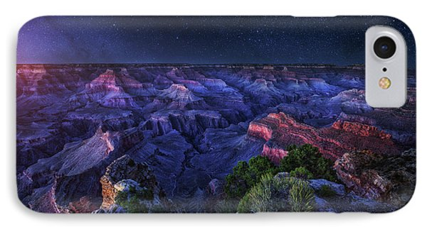 Grand Canyon Night IPhone Case
