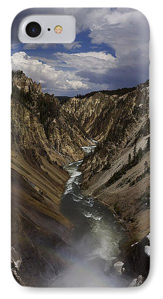 IPhone Case featuring the photograph Grand Canyon Of The Yellowstone - 25x63 by J L Woody Wooden