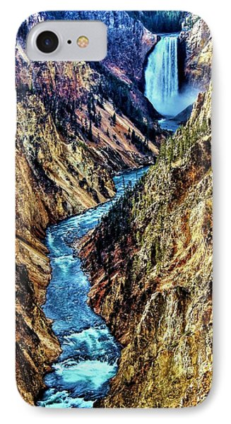 IPhone Case featuring the photograph Grand Canyon Of The Yellowstone by Benjamin Yeager