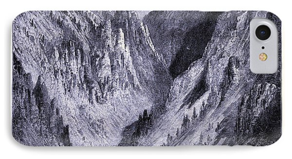 Grand Canyon Of The Yellowstone United States Of America IPhone Case