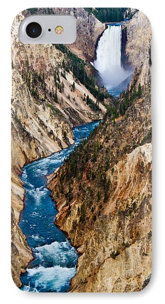 Grand Canyon Of Yellowstone Phone Case by Bill Gallagher