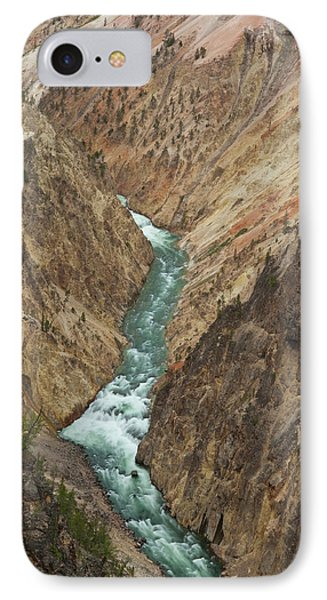Grand Canyon Of Yellowstone River IPhone Case by Howie Garber