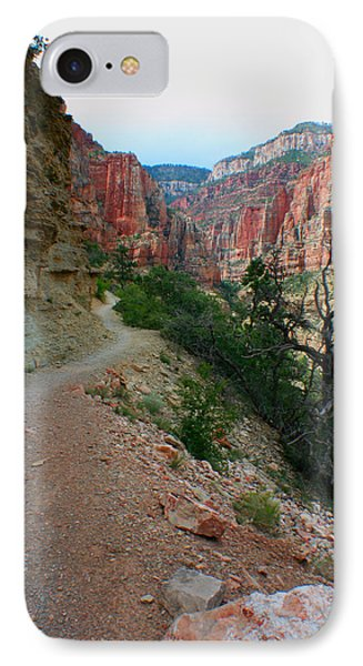 IPhone Case featuring the photograph Grand Canyon Or Bust by Jon Emery
