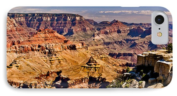 Grand Canyon Painting IPhone Case by Bob and Nadine Johnston
