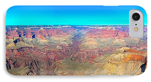 Grand Canyon Panorama IPhone Case by Penny Lisowski