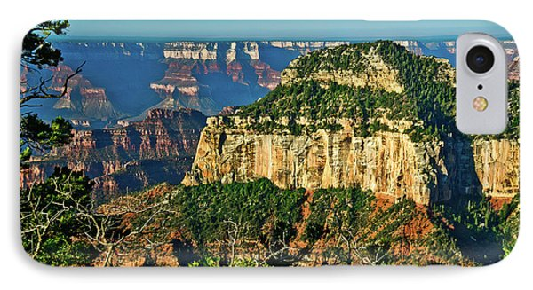 IPhone Case featuring the photograph Grand Canyon Peak Angel Point by Bob and Nadine Johnston