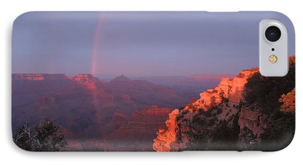 Grand Canyon Rainbow IPhone Case by Jayne Wilson