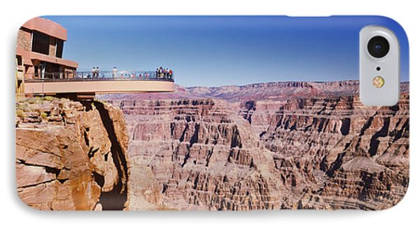 Grand Canyon Skywalk, Eagle Point, West IPhone Case by Panoramic Images