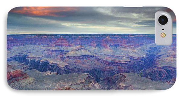 Grand Canyon Storm Set IPhone Case by Mike Dawson