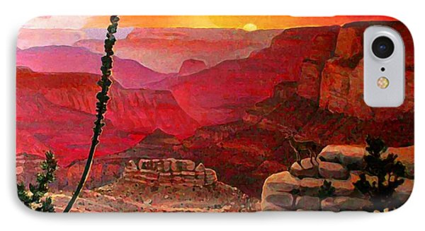 Grand Canyon Sunset Phone Case by Dan Terry
