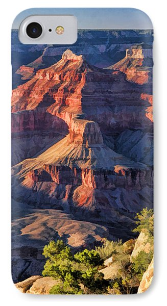Grand Canyon Sunset Ridge IPhone Case by Christopher Arndt