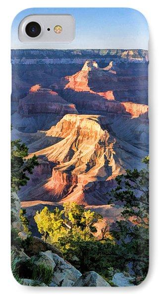 Grand Canyon Sunset Ridge Ledge IPhone Case by Christopher Arndt
