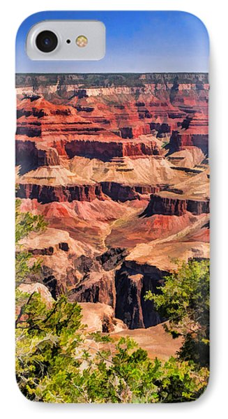 Grand Canyon Valley IPhone Case by Christopher Arndt