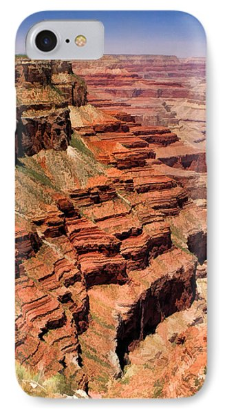 Grand Canyon Valley Depths IPhone Case by Christopher Arndt