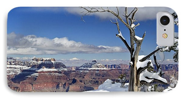 Grand Canyon Winter -2 IPhone Case