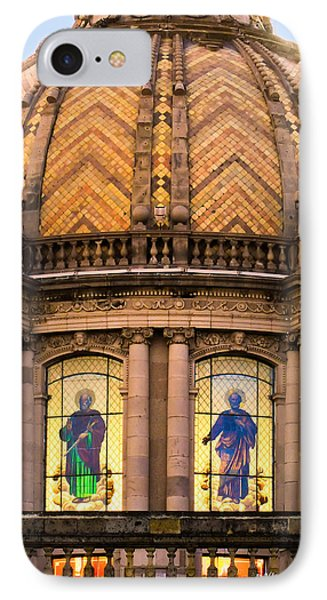 IPhone Case featuring the photograph Grand Cathedral Of Guadalajara by David Perry Lawrence