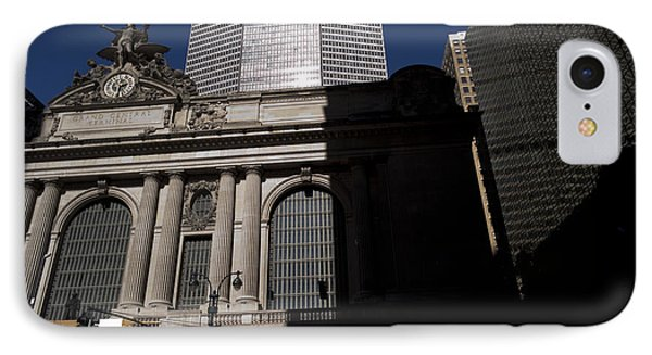 Grand Central In Evening Shadows Phone Case by David Bearden