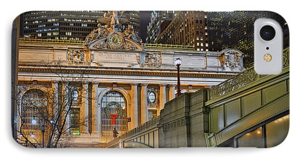 Grand Central Nocturnal IPhone Case by Jeffrey Friedkin