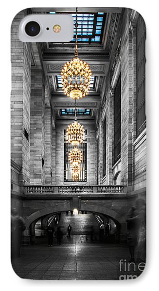 Grand Central Station IIi Ck IPhone Case by Hannes Cmarits