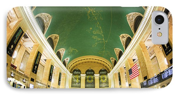 Grand Central Station New York City On Its Centennnial  IPhone Case by Diane Diederich