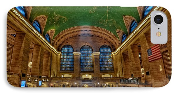 Grand Central Station IPhone Case by Susan Candelario