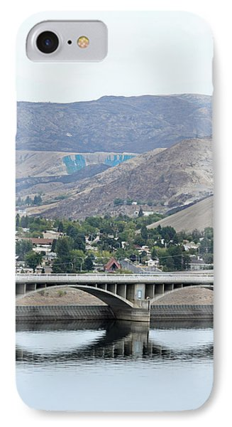 IPhone Case featuring the photograph Grand Coulee Dam And Coulee City by E Faithe Lester