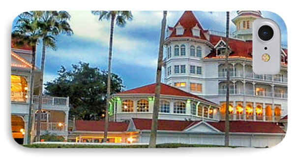 Grand Floridian Resort Walt Disney World IPhone Case by Thomas Woolworth