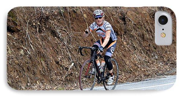 Grand Fondo Bike Ride Phone Case by Susan Leggett