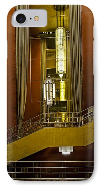 Grand Foyer Staircase IPhone Case by Susan Candelario