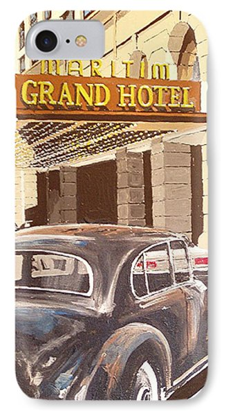 Grand Hotel East Berlin Germany Phone Case by Paul Guyer