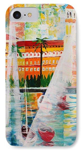 Grand Hotel  In Gardone Riviera In Sunlight Phone Case by M Bleichner
