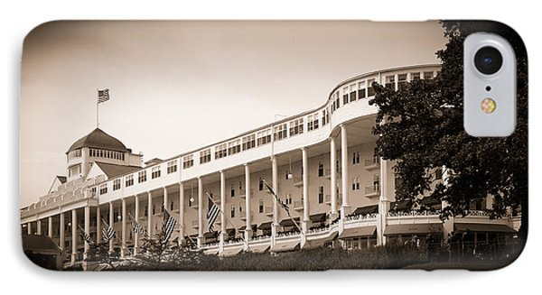 Grand Hotel IPhone Case by James Howe