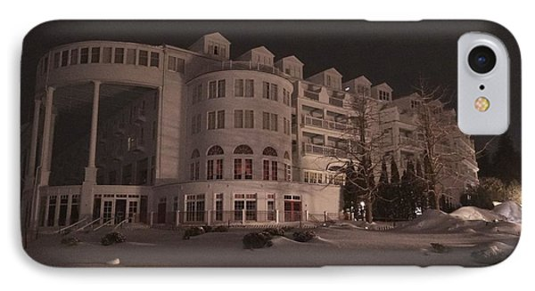 Grand Hotel On A Winter Night IPhone Case