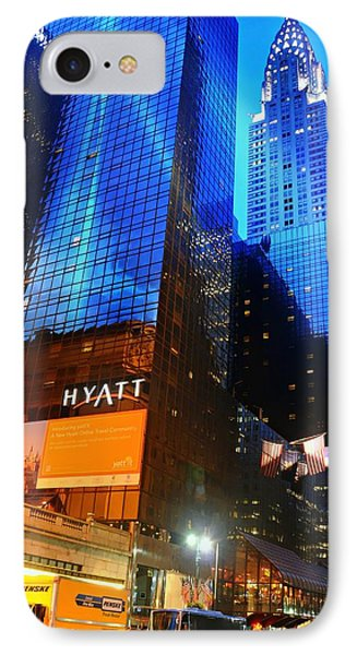 Grand Hyatt IPhone Case by Diana Angstadt