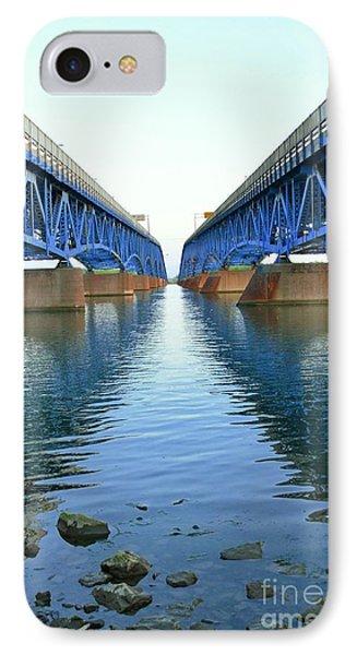 Grand Island Bridges Phone Case by Kathleen Struckle