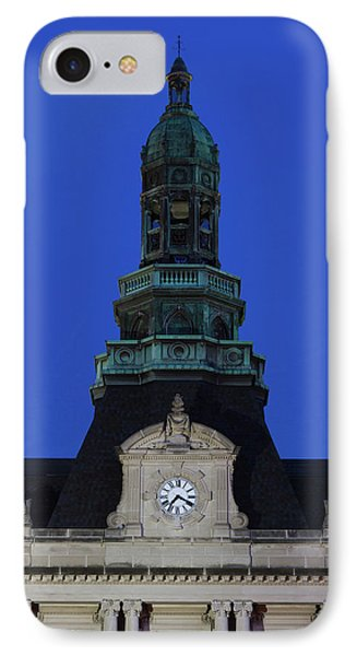 Grand Island Courthouse At Dusk, Grand IPhone Case