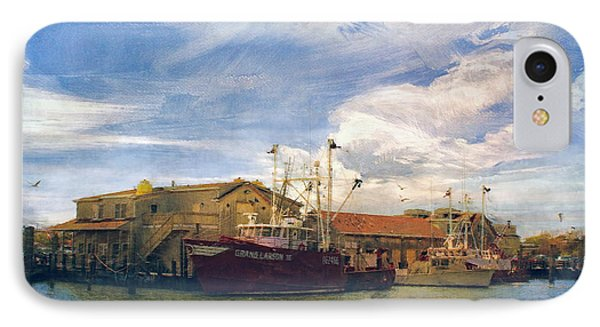 IPhone Case featuring the photograph Grand Larson IIi Fishing Vessel by John Rivera